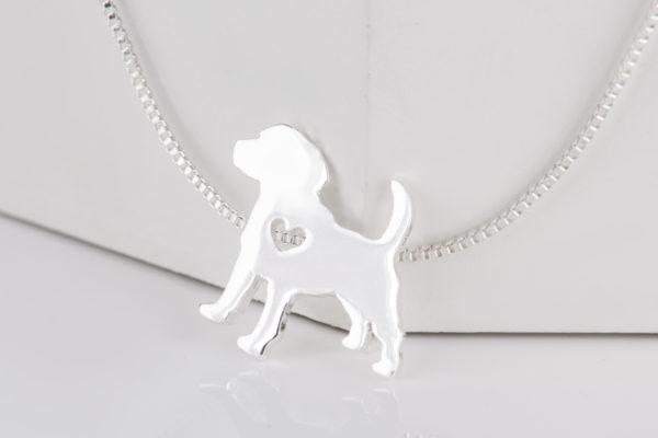 Wisiorek Beagle