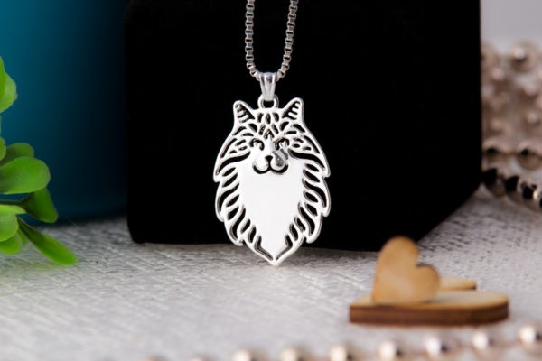 Wisiorek Kot Norweski leśny