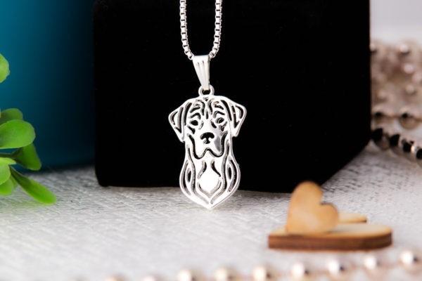 Wisiorek Labrador ażurkowy, Wisiorek Piesek