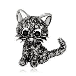 Przypinki, broszki - Kot