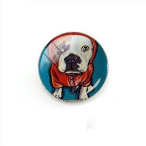 Przypinki, Broszki - Pies